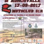 Motocavalcata di Roncisvalle 17-09-2017 attraverso la Valdera e le colline pisane