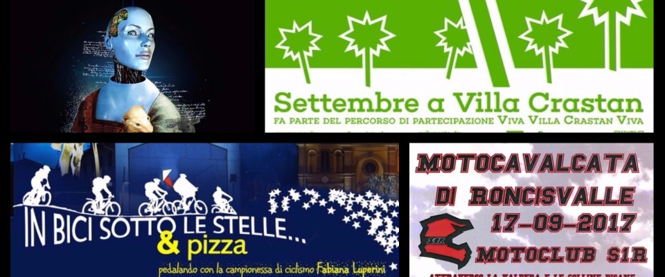 Appuntamenti di Settembre a Pontedera
